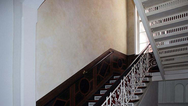 Wandgestaltung treppenhaus bilder  Treppenhaus - Nach erfolgter Restaurierung und Wandgestaltung ...